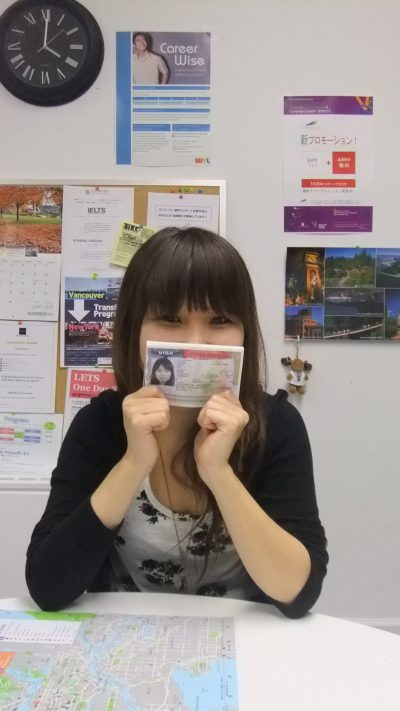 カナダ国内でアメリカ学生ビザの申請をしました!
